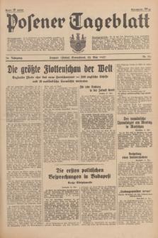 Posener Tageblatt. Jg.76, Nr. 114 (22 Mai 1937) + dod.