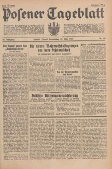 Posener Tageblatt. Jg.76, Nr. 118 (27 Mai 1937) + dod.