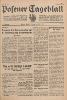 Posener Tageblatt. Jg.76, Nr. 120 (30 Mai 1937) + dod.
