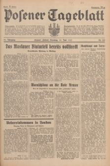 Posener Tageblatt. Jg.76, Nr. 133 (15 Juni 1937) + dod.