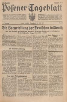 Posener Tageblatt. Jg.76, Nr. 154 (10 Juli 1937) + dod.