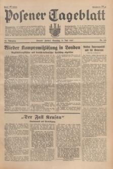Posener Tageblatt. Jg.76, Nr. 155 (11 Juli 1937) + dod.