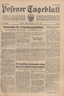 Posener Tageblatt. Jg.76, Nr. 161 (18 Juli 1937) + dod.