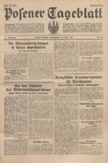 Posener Tageblatt. Jg.76, Nr. 166 (24 Juli 1937) + dod.