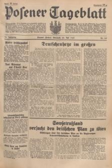 Posener Tageblatt. Jg.76, Nr. 169 (28 Juli 1937) + dod.