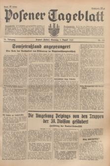 Posener Tageblatt. Jg.76, Nr. 173 (1 August 1937) + dod.
