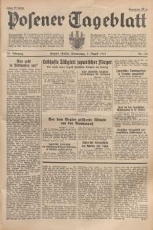 Posener Tageblatt. Jg.76, Nr. 176 (5 August 1937) + dod.