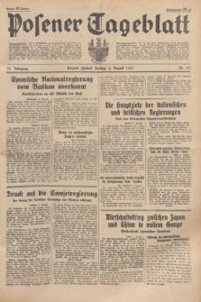 Posener Tageblatt. Jg.76, Nr. 177 (6 August 1937) + dod.