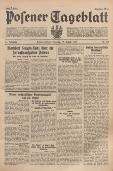Posener Tageblatt. Jg.76, Nr. 180 (10 August 1937) + dod.