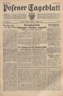 Posener Tageblatt. Jg.76, Nr. 183 (13 August 1937) + dod.