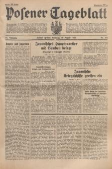 Posener Tageblatt. Jg.76, Nr. 185 (15 August 1937) + dod.