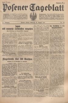 Posener Tageblatt. Jg.76, Nr. 193 (25 August 1937) + dod.