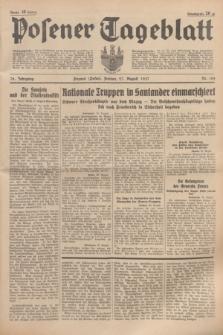 Posener Tageblatt. Jg.76, Nr. 195 (27 August 1937) + dod.