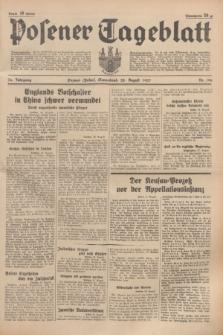 Posener Tageblatt. Jg.76, Nr. 196 (28 August 1937) + dod.