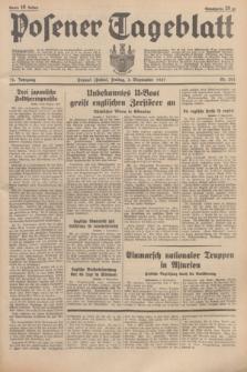 Posener Tageblatt. Jg.76, Nr. 201 (3 September 1937) + dod.