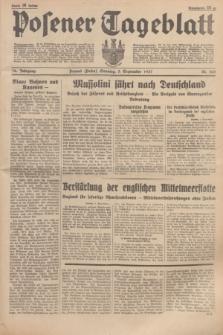Posener Tageblatt. Jg.76, Nr. 203 (5 September 1937) + dod.