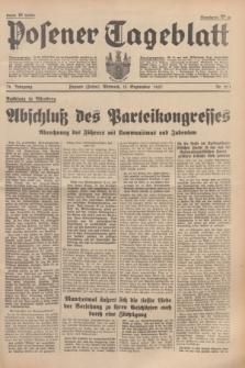 Posener Tageblatt. Jg.76, Nr. 211 (15 September 1937) + dod.