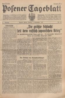 Posener Tageblatt. Jg.76, Nr. 213 (17 September 1937) + dod.