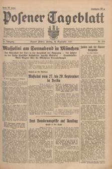 Posener Tageblatt. Jg.76, Nr. 219 (24 September 1937) + dod.