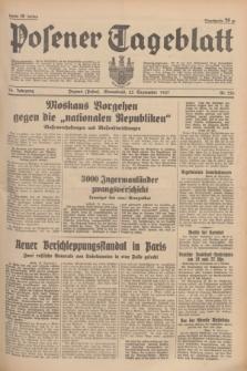 Posener Tageblatt. Jg.76, Nr. 220 (25 September 1937) + dod.