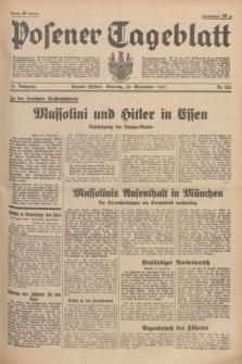 Posener Tageblatt. Jg.76, Nr. 222 (28 September 1937) + dod.