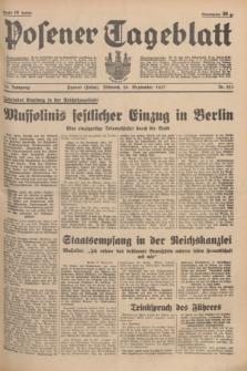 Posener Tageblatt. Jg.76, Nr. 223 (29 September 1937) + dod.