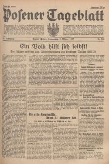 Posener Tageblatt. Jg.76, Nr. 230 (7 Oktober 1937) + dod.
