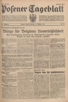 Posener Tageblatt. Jg.76, Nr. 237 (15 Oktober 1937) + dod.