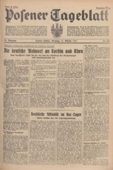 Posener Tageblatt. Jg.76, Nr. 240 (19 Oktober 1937) + dod.