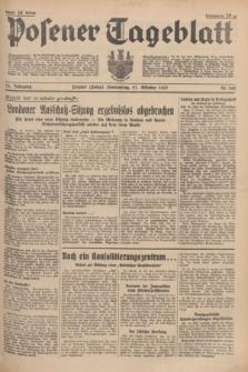 Posener Tageblatt. Jg.76, Nr. 242 (21 Oktober 1937) + dod.