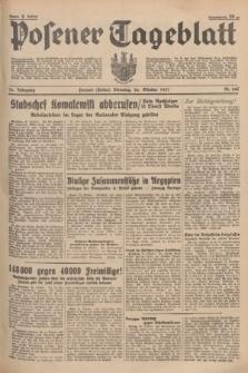 Posener Tageblatt. Jg.76, Nr. 246 (26 Oktober 1937) + dod.