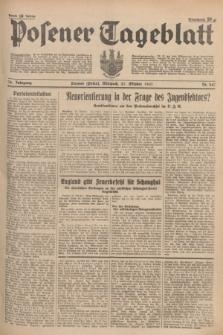 Posener Tageblatt. Jg.76, Nr. 247 (27 Oktober 1937) + dod.