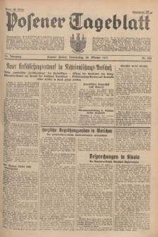 Posener Tageblatt. Jg.76, Nr. 248 (28 Oktober 1937) + dod.