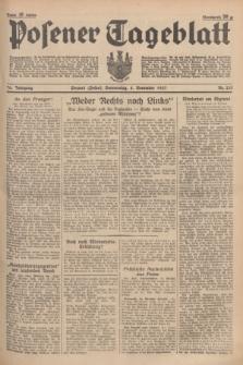 Posener Tageblatt. Jg.76, Nr. 253 (4 November 1937) + dod.