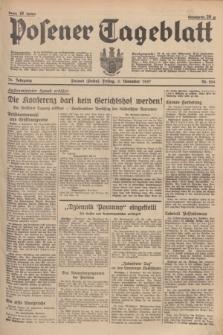 Posener Tageblatt. Jg.76, Nr. 254 (5 November 1937) + dod.