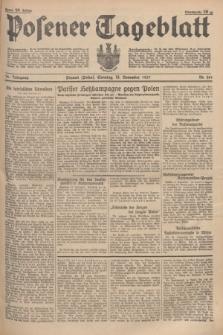 Posener Tageblatt. Jg.76, Nr. 261 (14 November 1937) + dod.