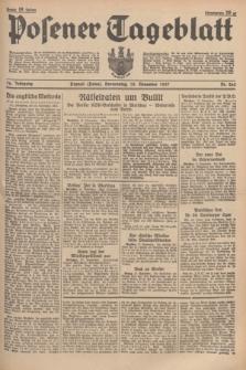 Posener Tageblatt. Jg.76, Nr. 264 (18 November 1937) + dod.