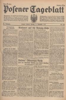 Posener Tageblatt. Jg.76, Nr. 265 (19 November 1937) + dod.