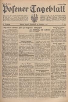 Posener Tageblatt. Jg.76, Nr. 266 (20 November 1937) + dod.