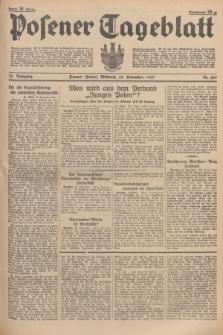 Posener Tageblatt. Jg.76, Nr. 269 (24 November 1937) + dod.