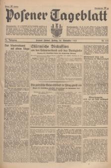 Posener Tageblatt. Jg.76, Nr. 271 (26 November 1937) + dod.