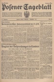Posener Tageblatt. Jg.76, Nr. 275 (1 Dezember 1937) + dod.