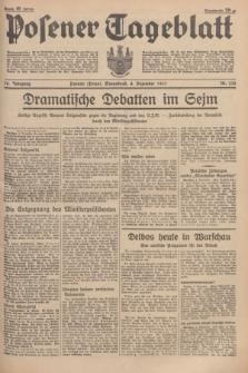 Posener Tageblatt. Jg.76, Nr. 278 (4 Dezember 1937) + dod.