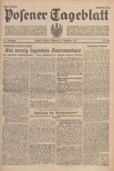 Posener Tageblatt. Jg.76, Nr. 281 (8 Dezember 1937) + dod.