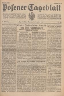 Posener Tageblatt. Jg.76, Nr. 284 (12 Dezember 1937) + dod.