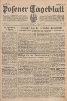 Posener Tageblatt. Jg.76, Nr. 288 (17 Dezember 1937) + dod.