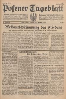 Posener Tageblatt. Jg.76, Nr. 296 (28 Dezember 1937) + dod.