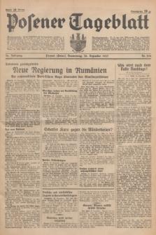 Posener Tageblatt. Jg.76, Nr. 298 (30 Dezember 1937) + dod.