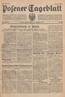 Posener Tageblatt. Jg.76, Nr. 299 (31 Dezember 1937) + dod.