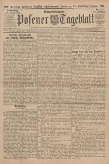 Posener Tageblatt. Jg.53, Nr. 175 (16 April 1914) + dod.